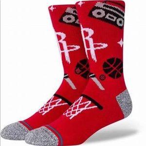 Stance Houston Rockets Socks - NWT